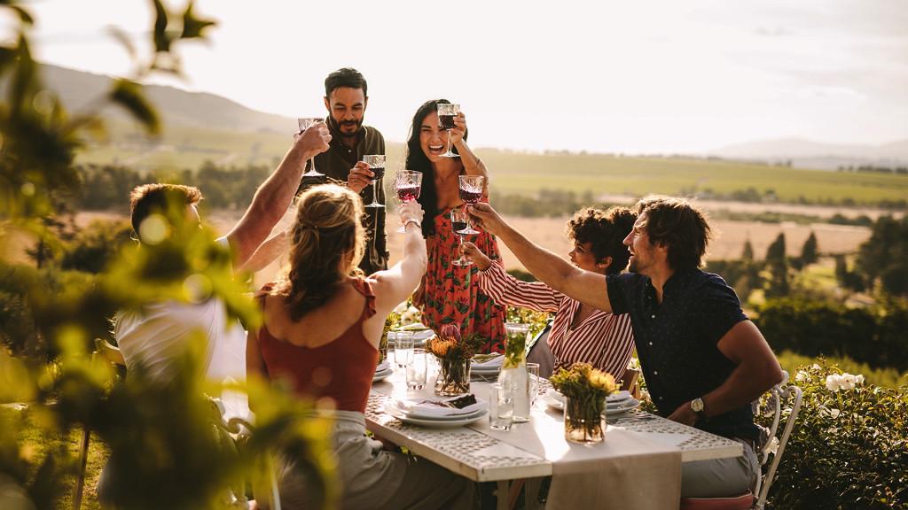 Brindisi in campagna - Vino in festa