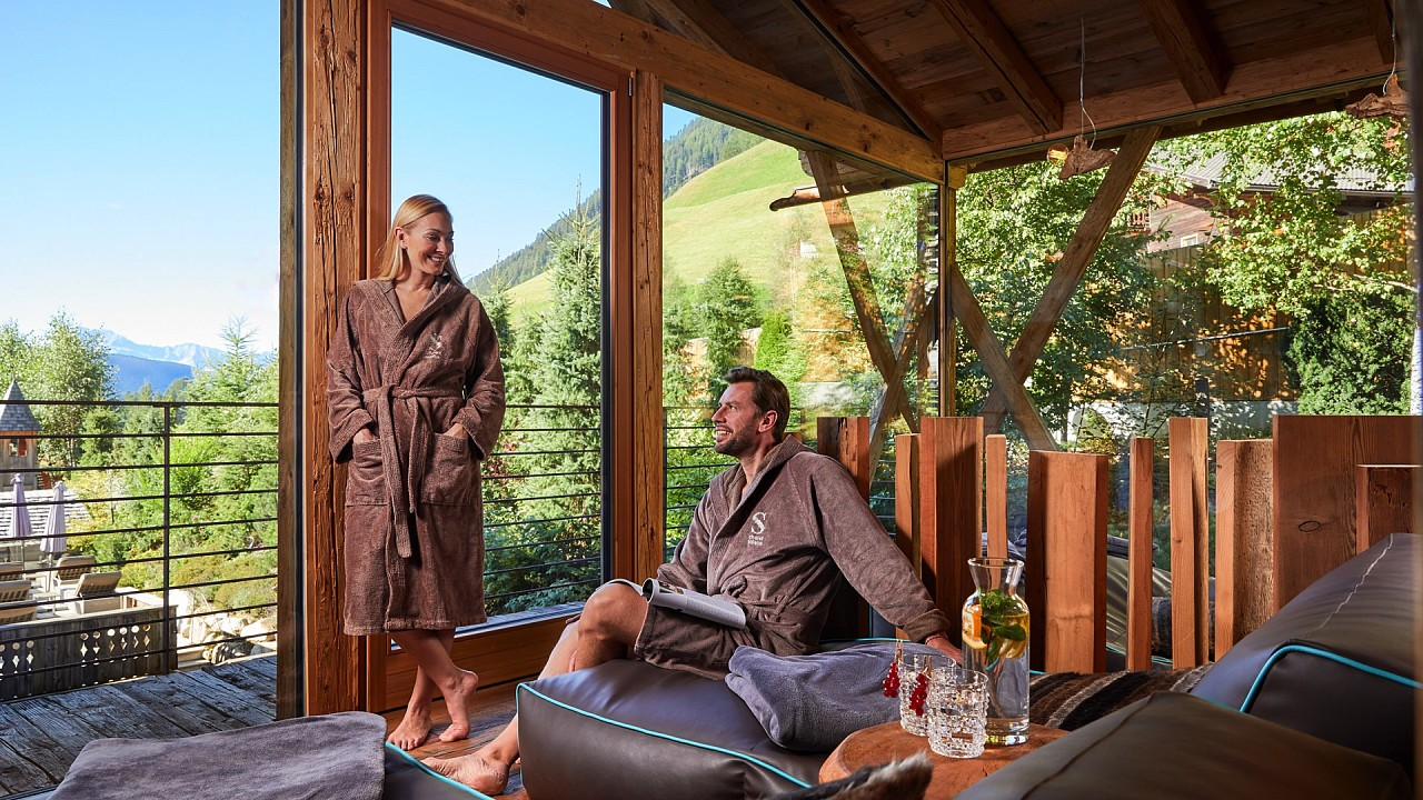Coppia in relax - Chalet salena: chalet di lusso in Valle di Casies