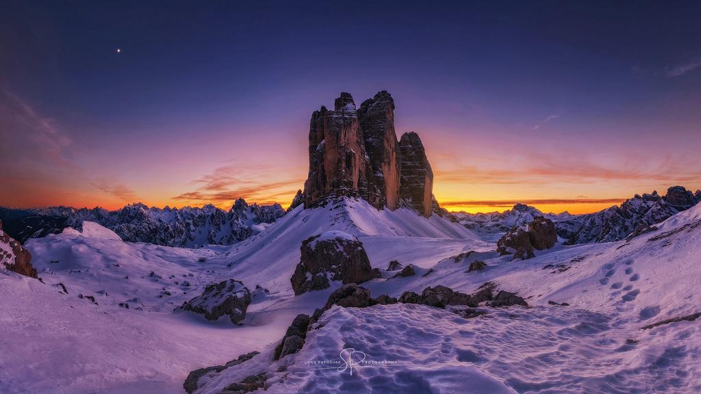 Tre Cime in inverno - Tre Cime di Lavaredo: il lusso ad alta quota