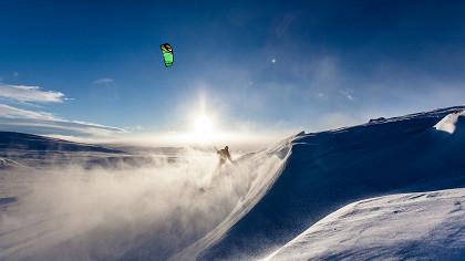 Championnats de snowkiting - cover