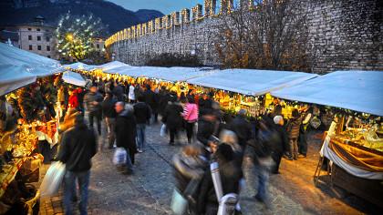 Mercatini di Natale: Trento, Valle dei Laghi, Pinè-Cembra - cover
