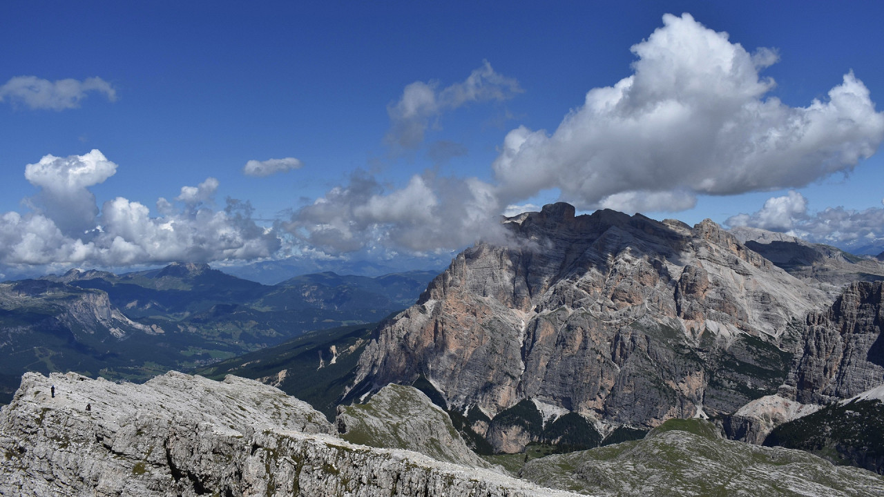 Panorama from Lagazuoi Cortina