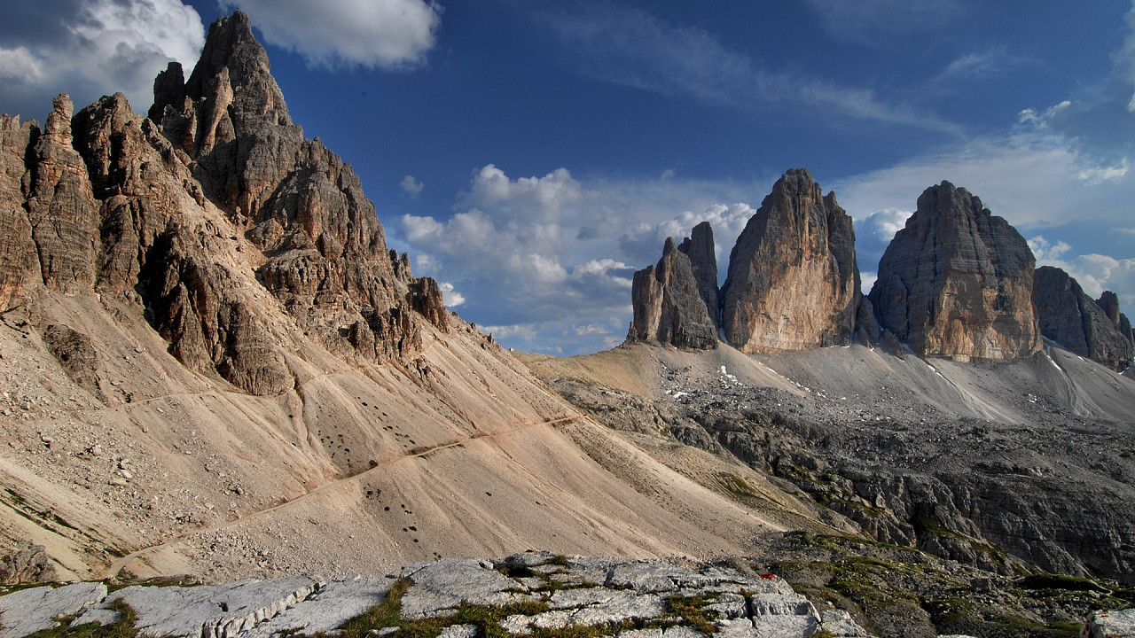Paterno Mount and Tre Cime di Lavaredo