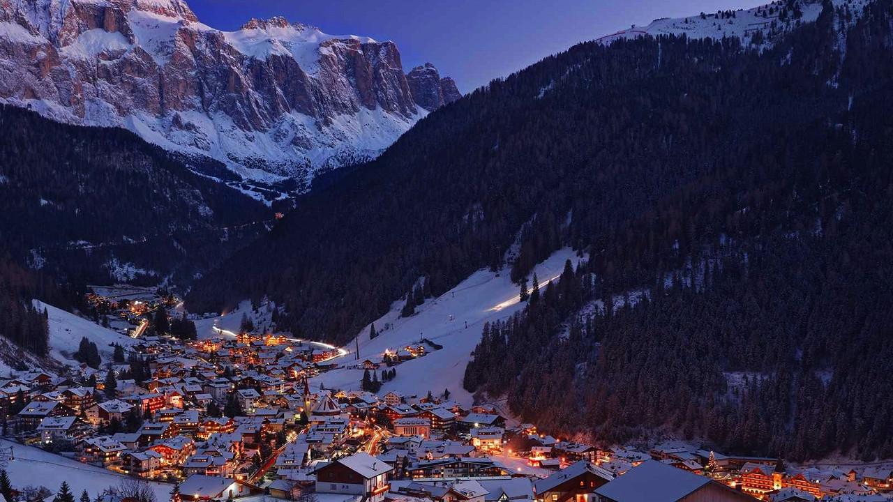 Winter in Wolkenstein in Gröden