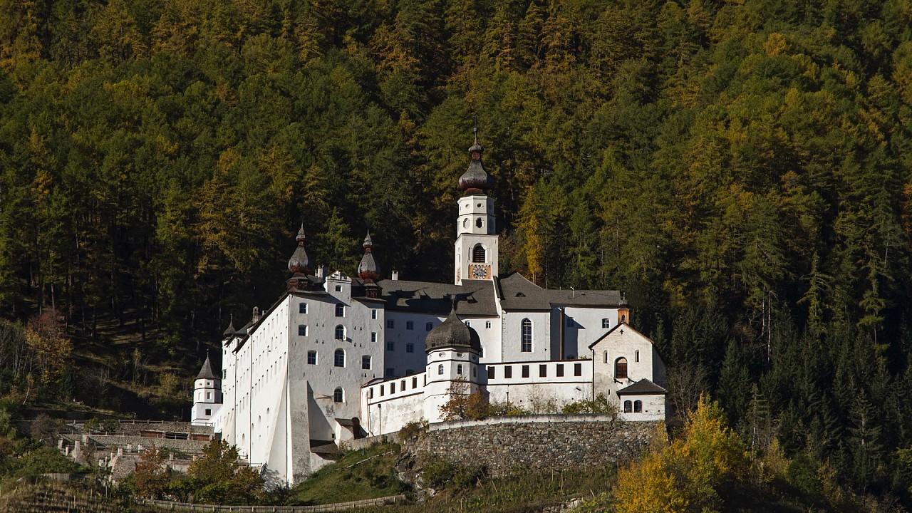 Abbey Marienberg Malles Venosta