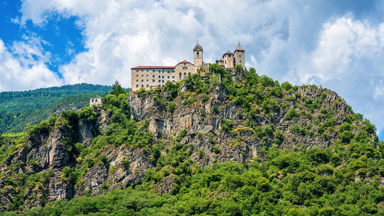 Sabiona Monastery in Chiusa