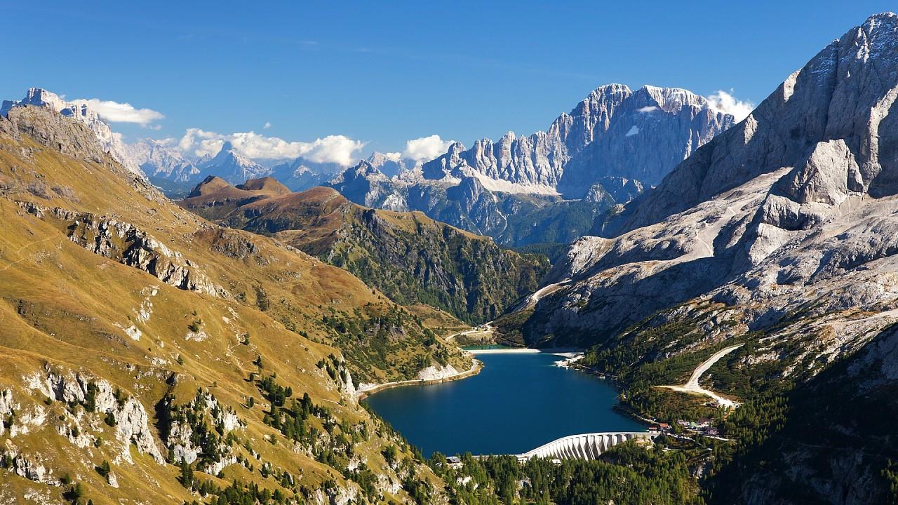 Fedaia Lake Canazei