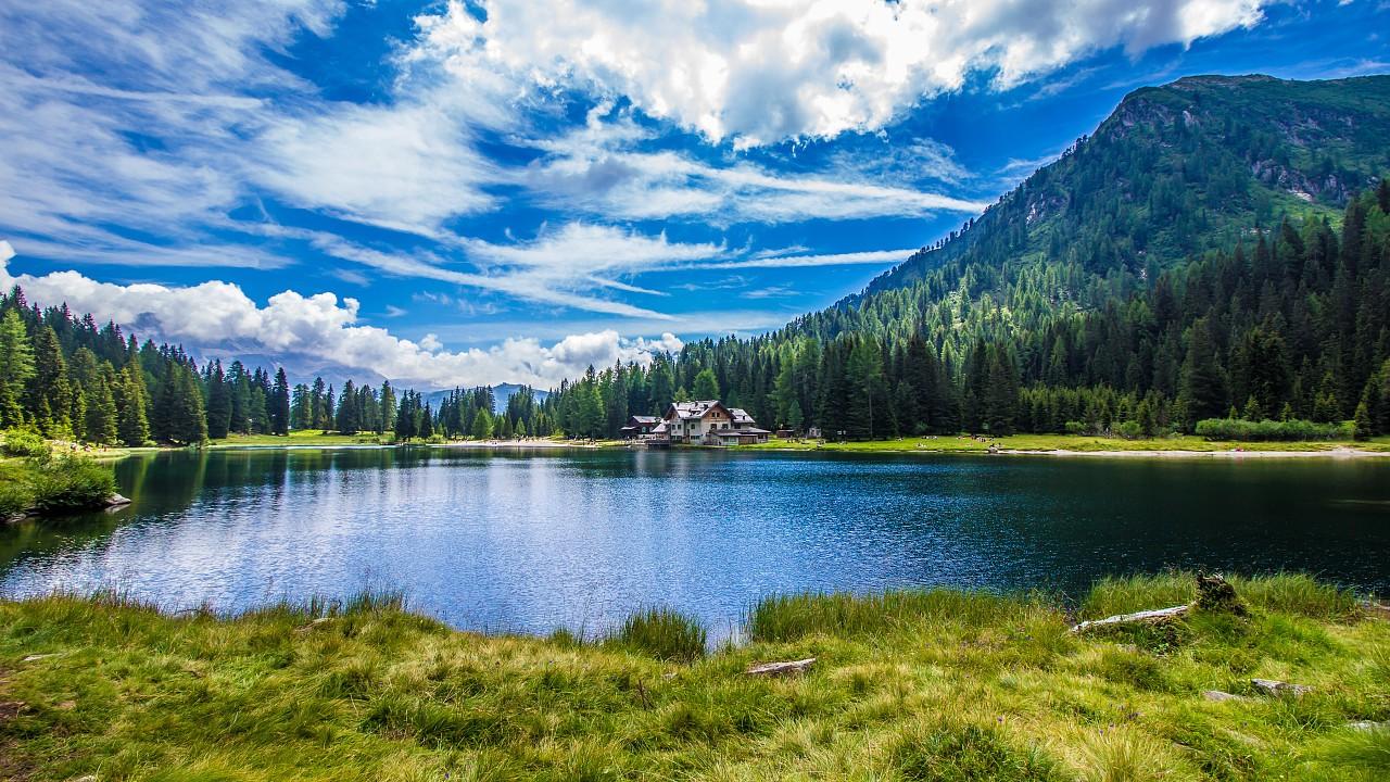 Nambino Lake in Madonna di Campiglio