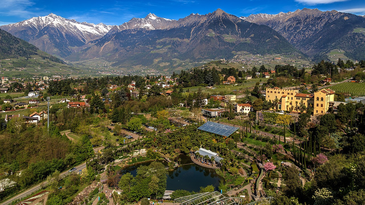 Gardens of Sissi in Merano