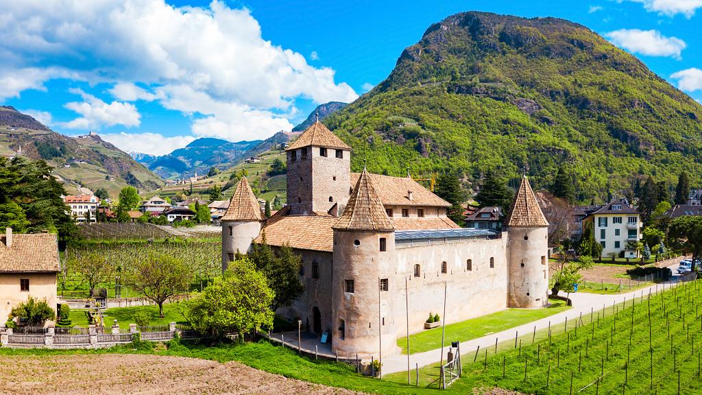 Mareccio Castle in Bolzano