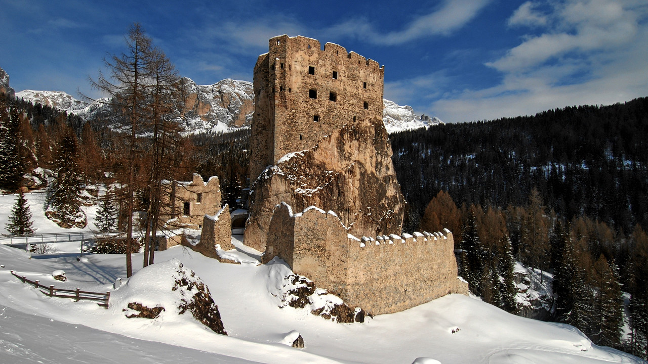 Andraz Castle Pordoi Pass