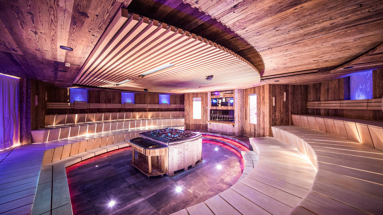 Сауна Quellenhof Luxury Resort Passeier