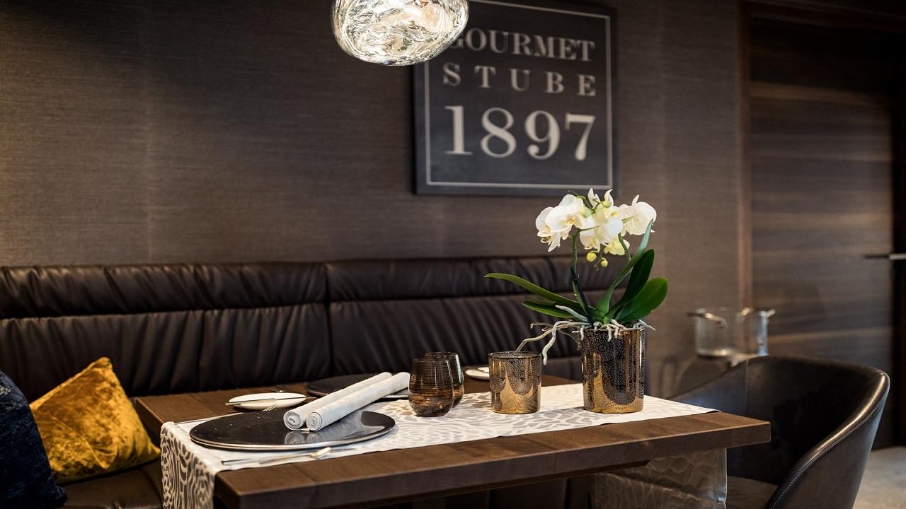 Ресторан Stube Quellenhof Luxury Resort Passeier