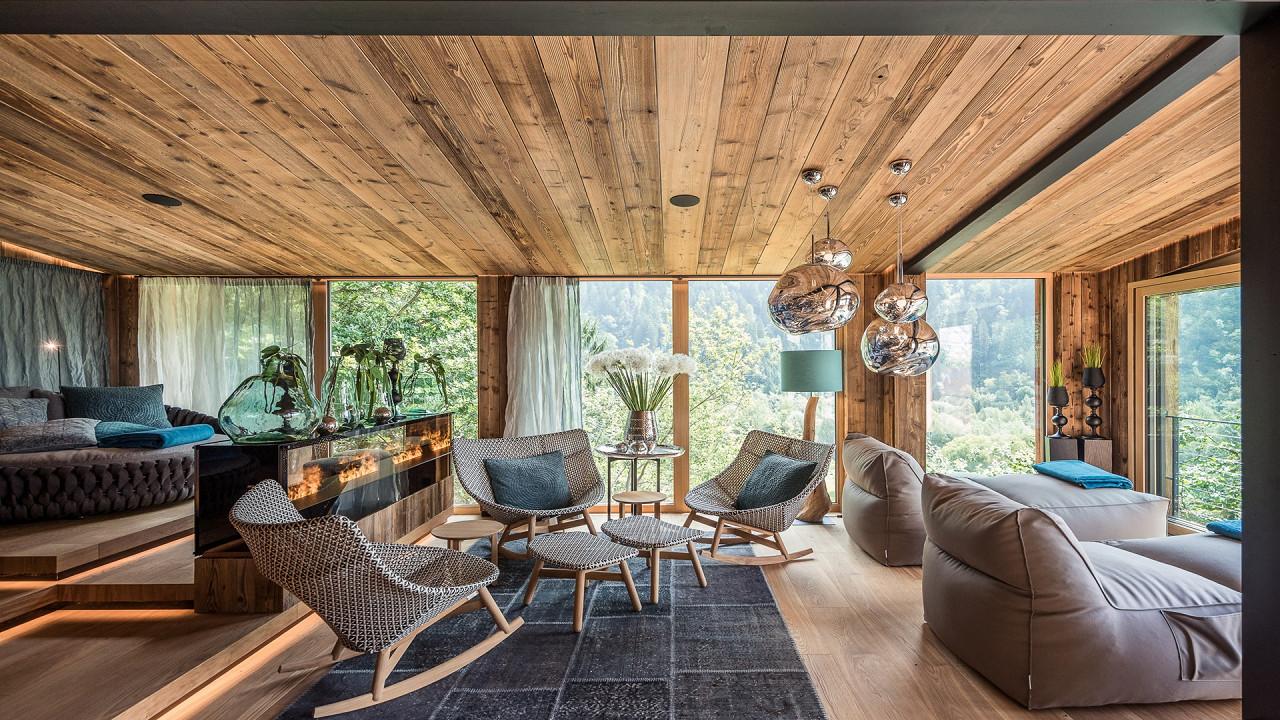Entspannungbereich Quellenhof Luxury Resort Passeier