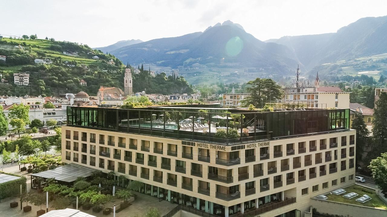 Außen Hotel Terme Merano