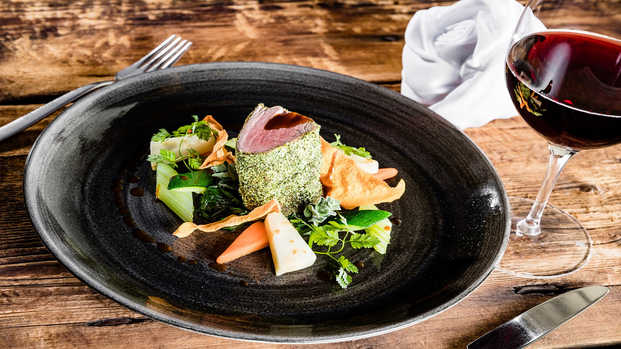 Gourmet dish Alpin Hotel Masl Valles