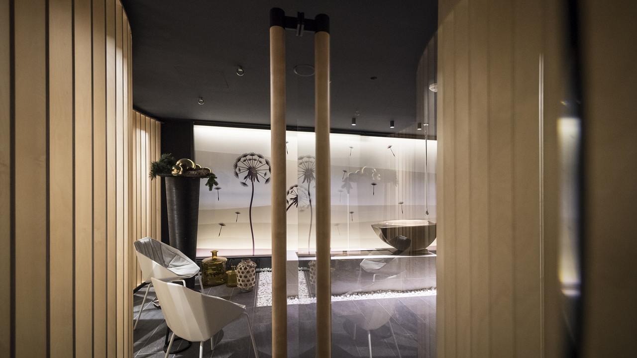 Bathroom Post Hotel San Candido