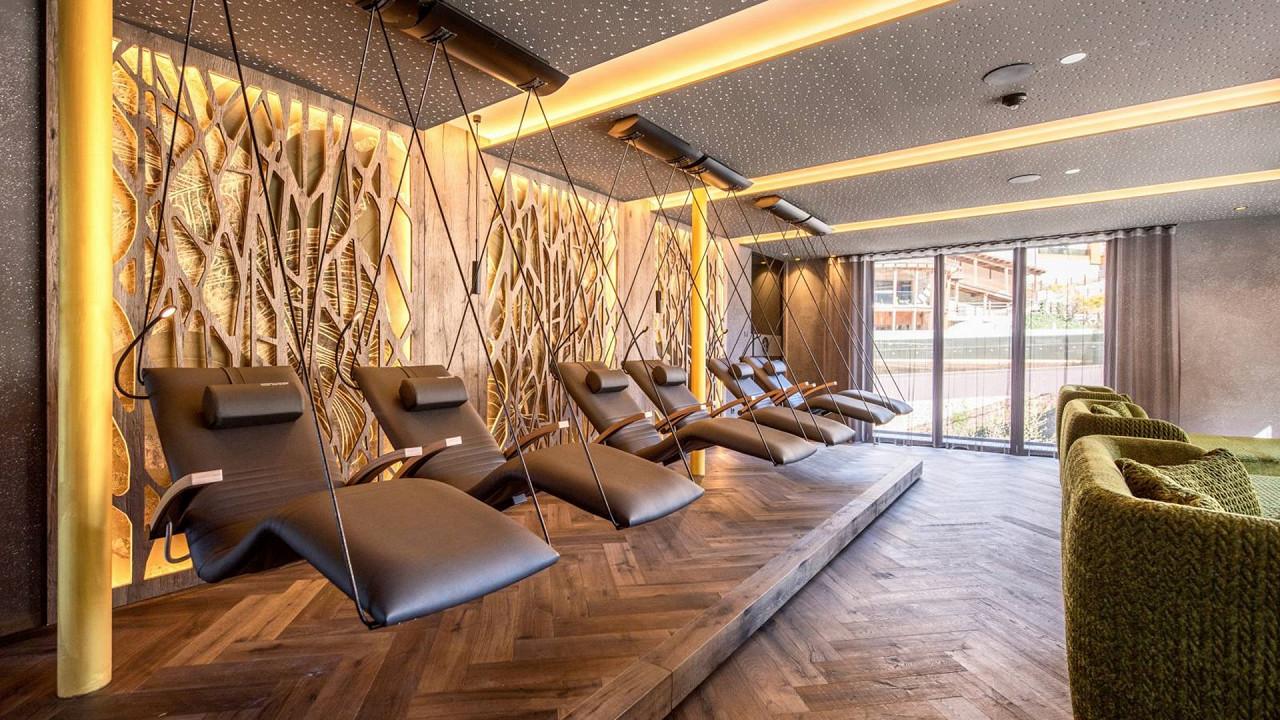 Salle de détente Quellenhof Luxury Resort Passeier