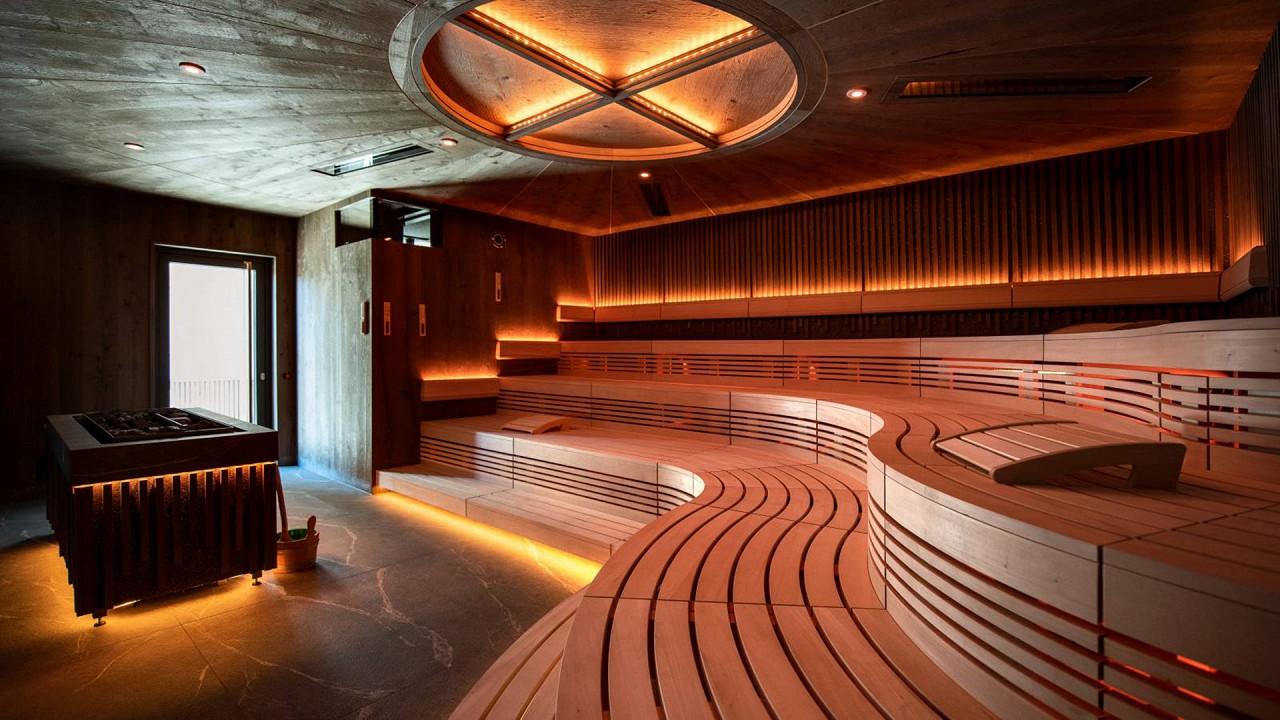 Sauna Quellenhof Luxury Resort Passeier