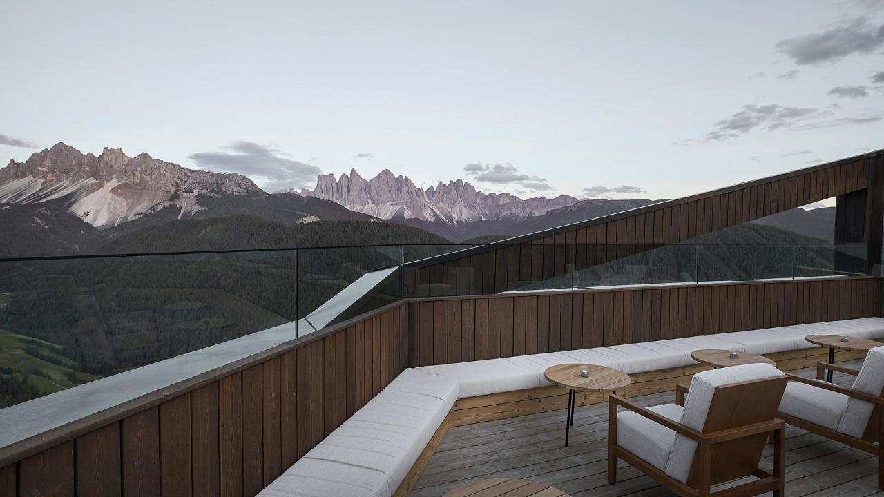 Panoramablick FORESTIS Dolomiten Brixen