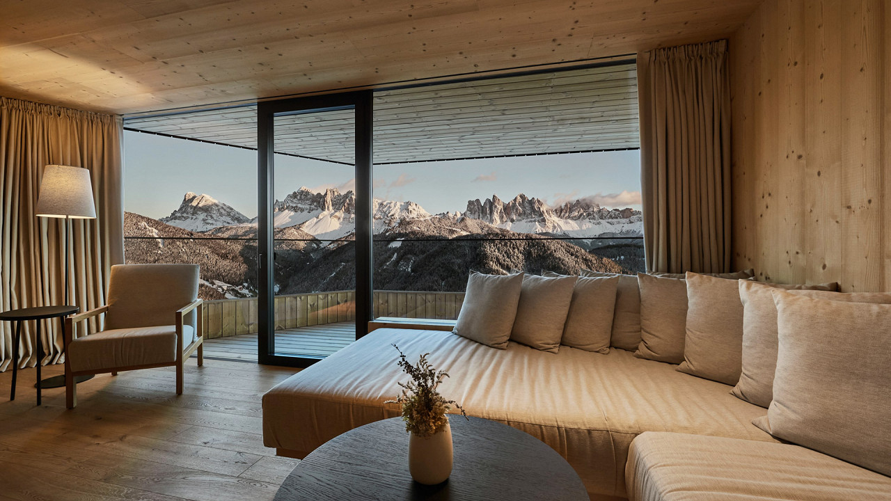 Intern Suite Penthouse Forestis Brixen