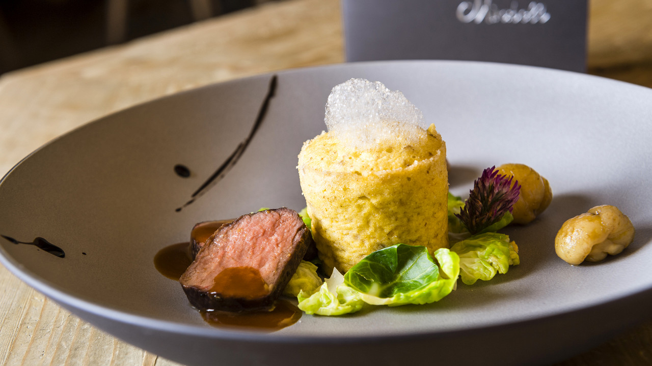 Gourmet dish Mirabell Dolomites Hotel Valdaora