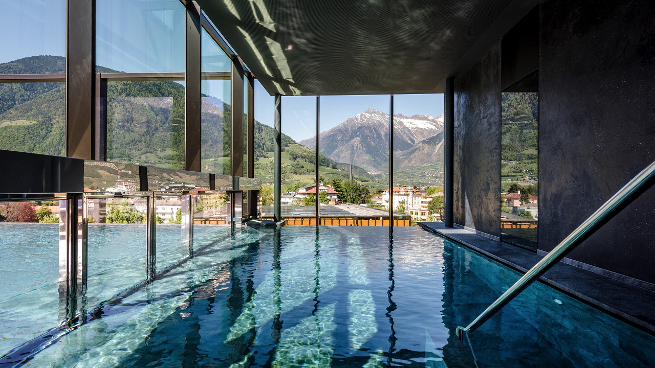 Indoor pool Hotel Terme Merano