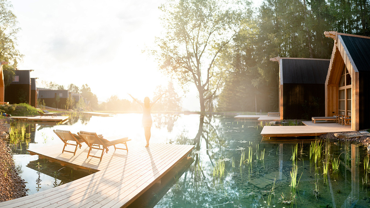 Chalet on the lake Adler Lodge Ritten Renon
