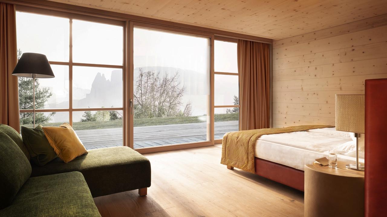 Zimmer mit Blick Adler Lodge Ritten Ritten