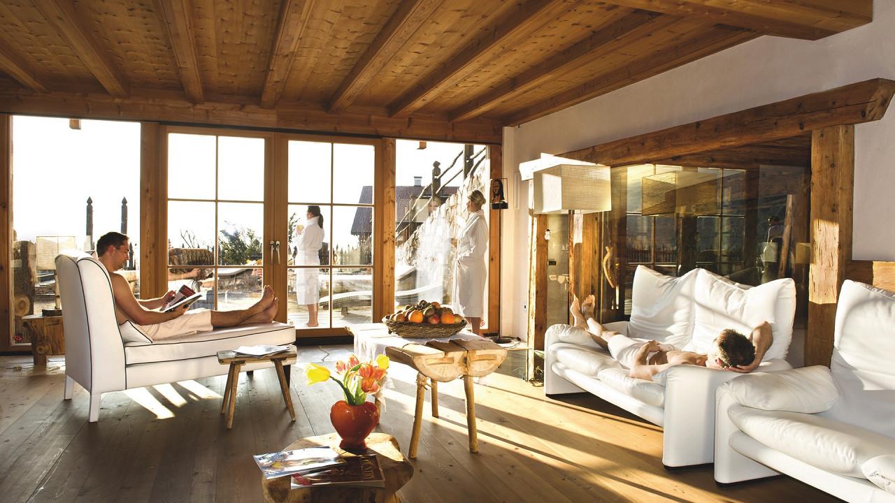 комната отдыха Отель Luesnerhof Лусон