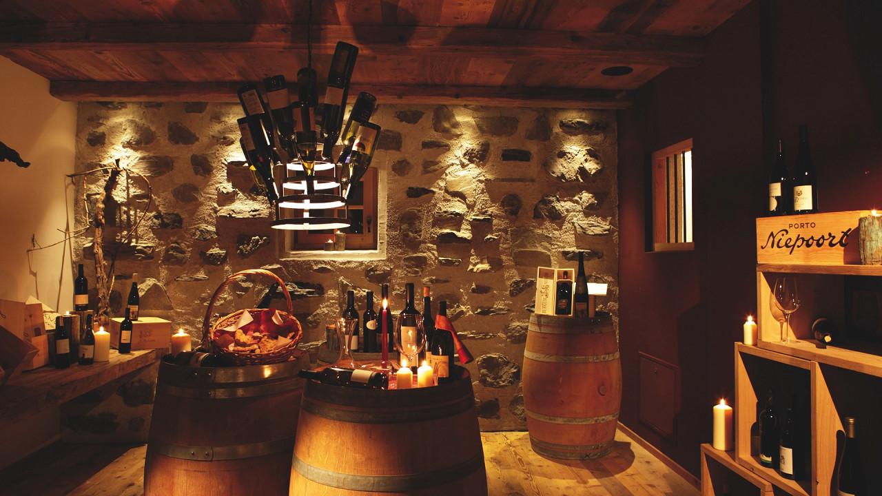 Winecellar Tirler Hotel Alpe di Siusi