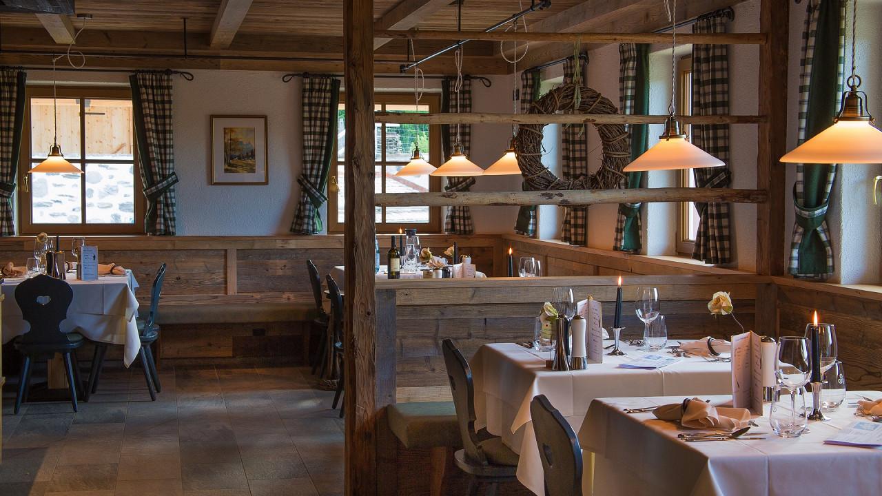 Restaurant Tirler Hotel Alpe di Siusi