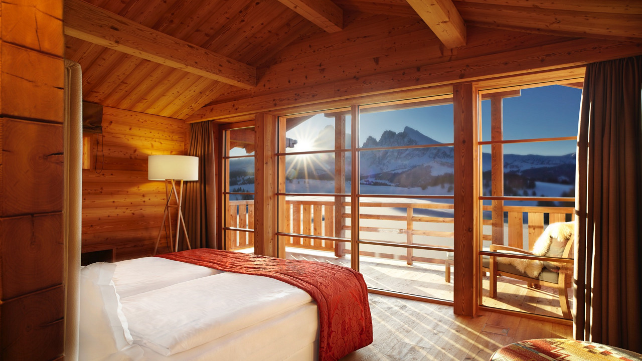 Winter Adler Lodge Seiser Alm