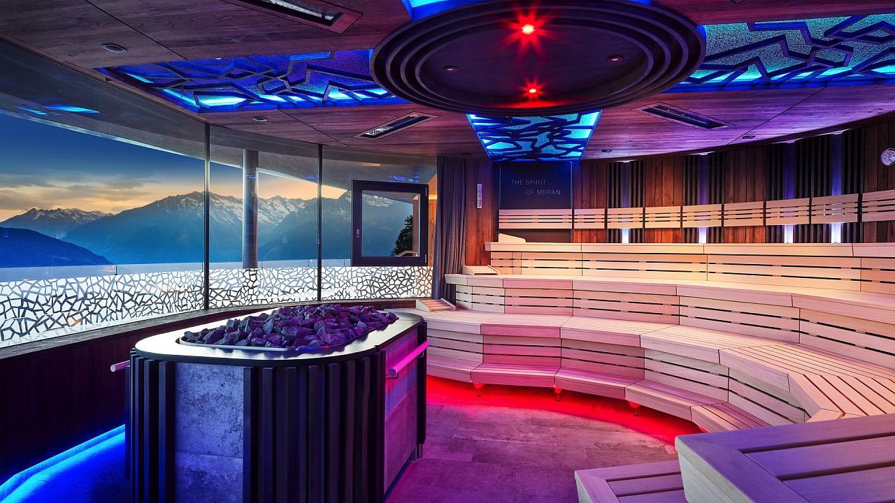 Sauna Hotel Chalet Mirabell Hafling