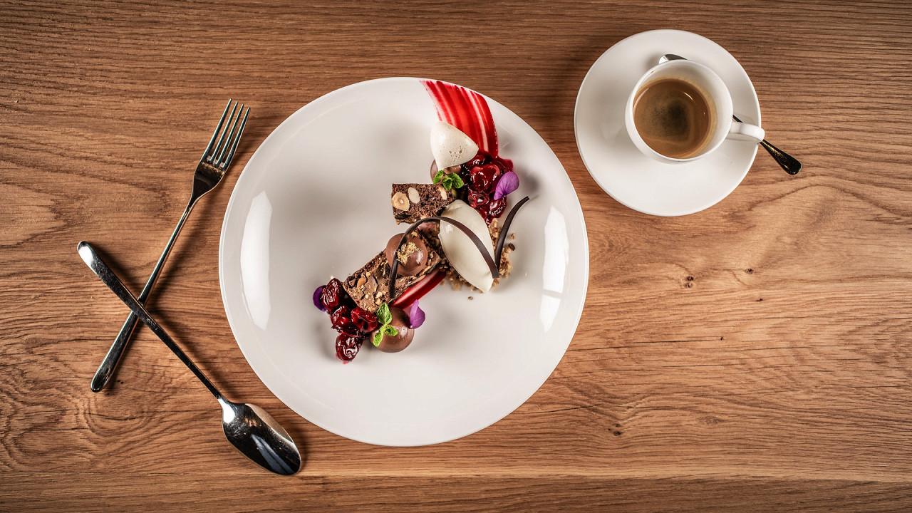 Plat gastronomique My Arbor Hôtel Bressanone