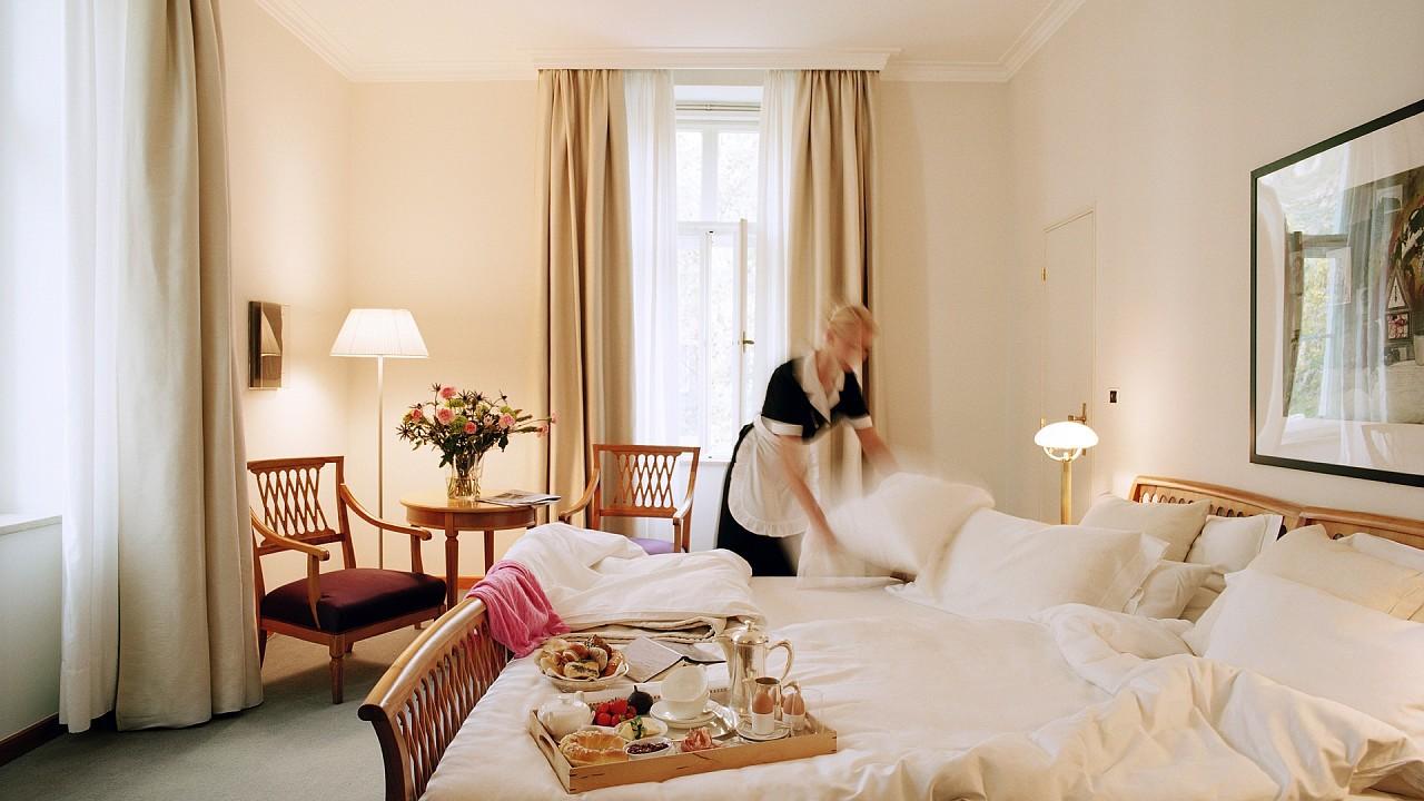 Интерьер комнаты Парк-отель Лаурин Больцано