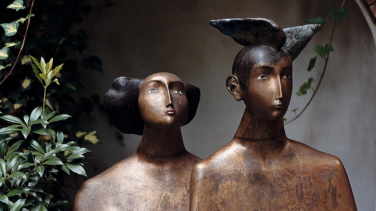 Skulpturen Parkhotel Laurin Bozen