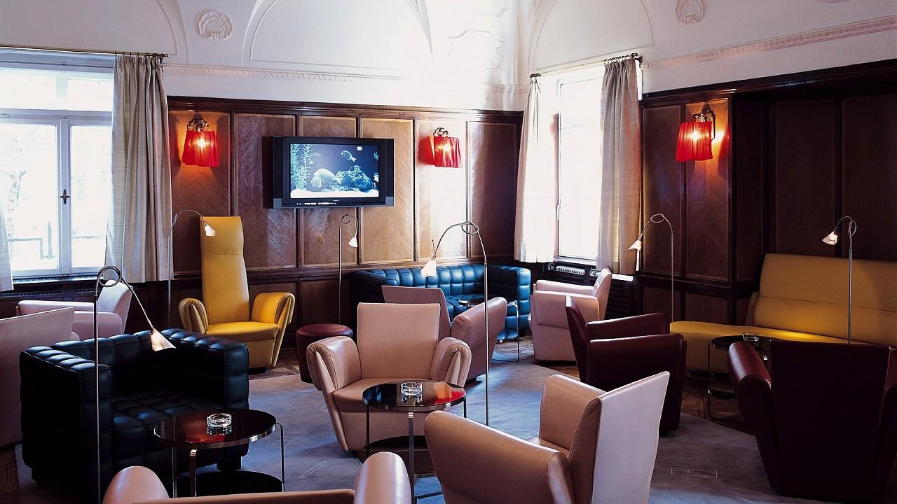 Lounge Parkhotel Laurin Bolzano