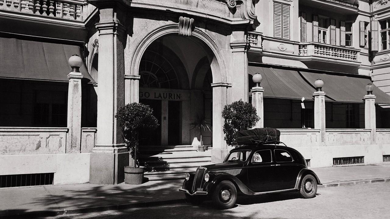 Vintage Foto Parkhotel Laurin Bolzano