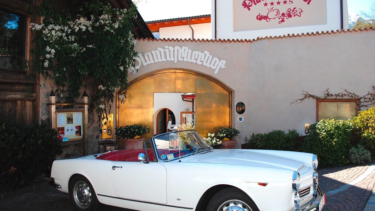 Classic car Hotel Plantitscherhof Merano
