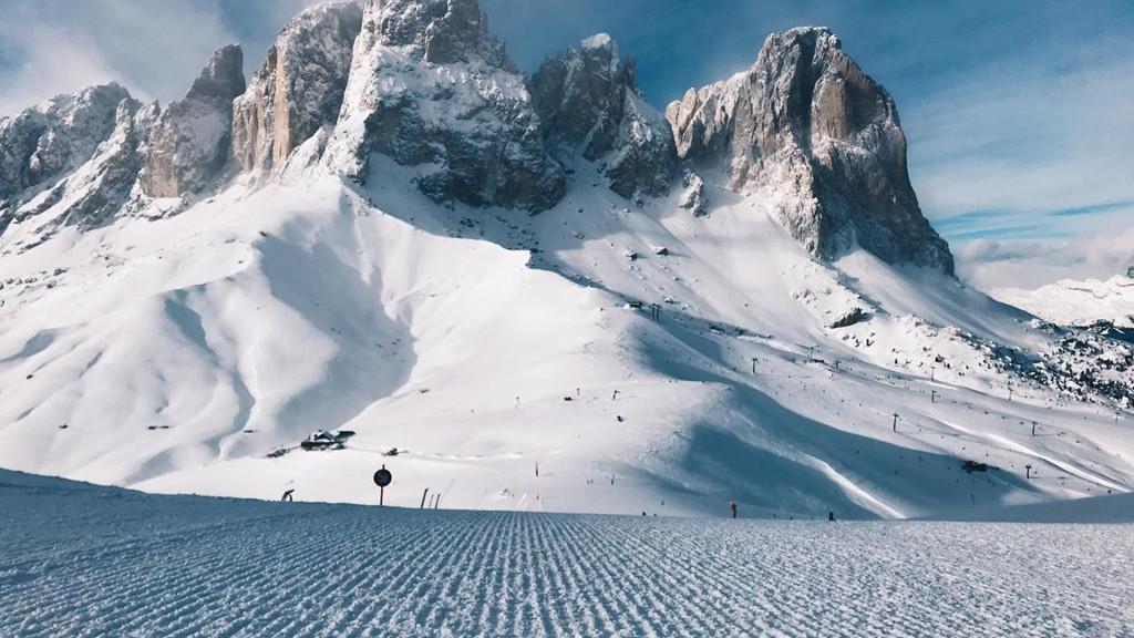 Safari sur les skis: Sellaronda Dolomites