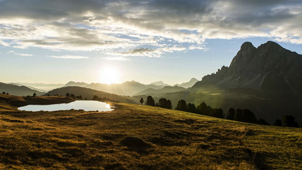 summer landscape for walking Forestis Bressanone activity