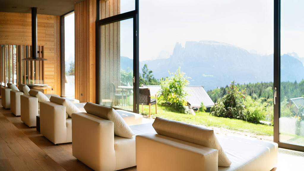 Relaxation room Adler Lodge Ritten Renon wellness