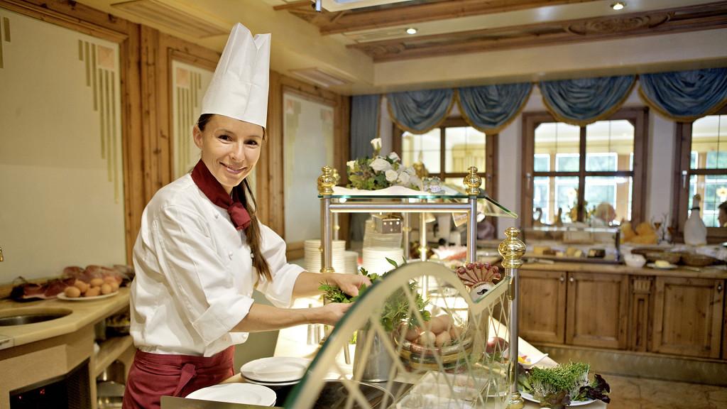 Chef Hôtel Quelle Val Casies gourmet