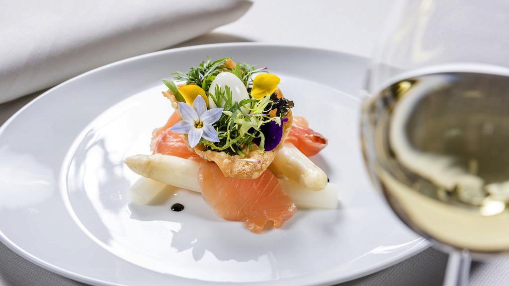 Plat gastronomique Hotel Terme Merano gourmet
