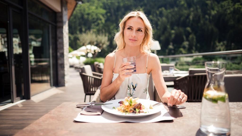 обед для гурманов Quellenhof Валь Пассирия гурман