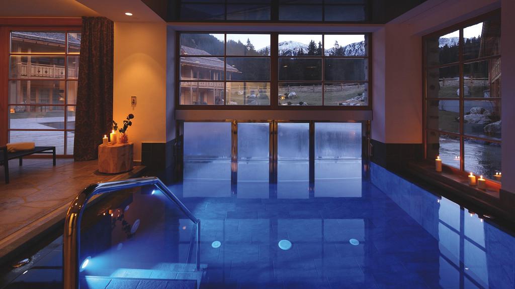 Inside pool Tirler Hotel Alpe di Siusi wellness
