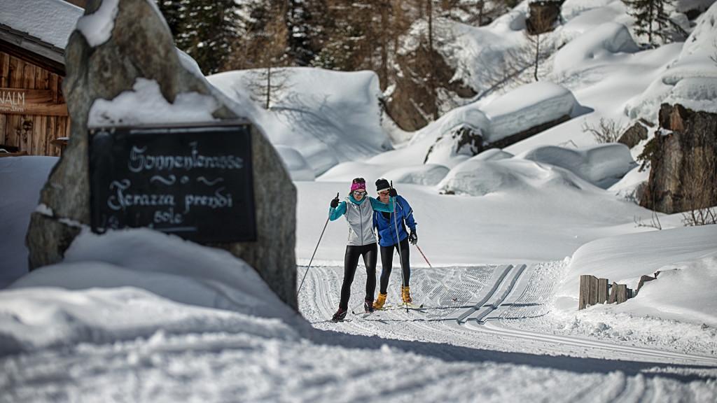 беговые лыжи Schwarzenstein Resort Lutago деятельность