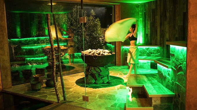 Sauna Hotel Turm Völs am Schlern Wellness
